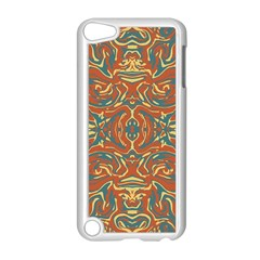Multicolored Abstract Ornate Pattern Apple Ipod Touch 5 Case (white)