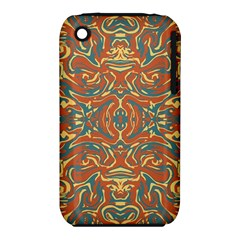 Multicolored Abstract Ornate Pattern Iphone 3s/3gs