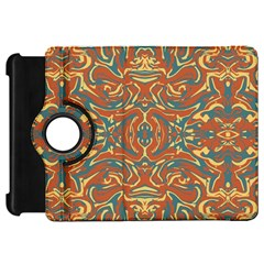 Multicolored Abstract Ornate Pattern Kindle Fire Hd 7