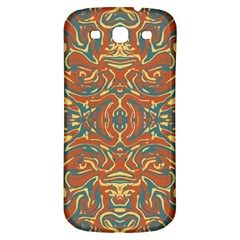 Multicolored Abstract Ornate Pattern Samsung Galaxy S3 S Iii Classic Hardshell Back Case