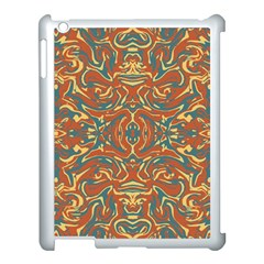 Multicolored Abstract Ornate Pattern Apple Ipad 3/4 Case (white)