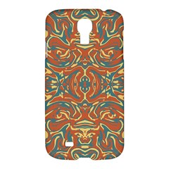 Multicolored Abstract Ornate Pattern Samsung Galaxy S4 I9500/i9505 Hardshell Case