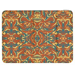 Multicolored Abstract Ornate Pattern Samsung Galaxy Tab 7  P1000 Flip Case