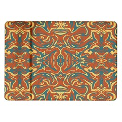 Multicolored Abstract Ornate Pattern Samsung Galaxy Tab 10 1  P7500 Flip Case