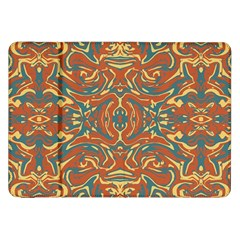 Multicolored Abstract Ornate Pattern Samsung Galaxy Tab 8 9  P7300 Flip Case