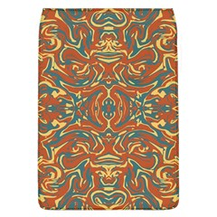 Multicolored Abstract Ornate Pattern Flap Covers (l)