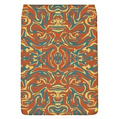 Multicolored Abstract Ornate Pattern Flap Covers (s)