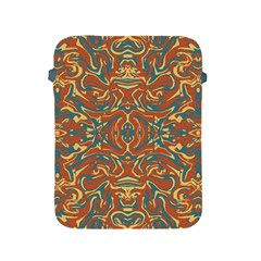 Multicolored Abstract Ornate Pattern Apple Ipad 2/3/4 Protective Soft Cases