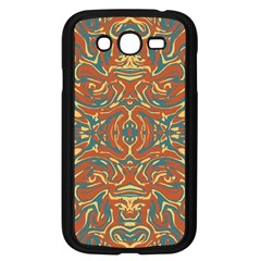 Multicolored Abstract Ornate Pattern Samsung Galaxy Grand Duos I9082 Case (black)
