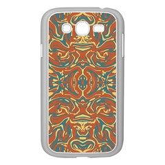 Multicolored Abstract Ornate Pattern Samsung Galaxy Grand Duos I9082 Case (white)