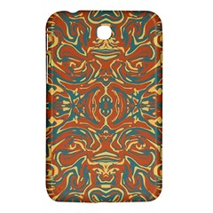 Multicolored Abstract Ornate Pattern Samsung Galaxy Tab 3 (7 ) P3200 Hardshell Case