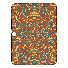 Multicolored Abstract Ornate Pattern Samsung Galaxy Tab 3 (10 1 ) P5200 Hardshell Case
