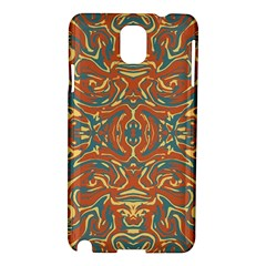 Multicolored Abstract Ornate Pattern Samsung Galaxy Note 3 N9005 Hardshell Case