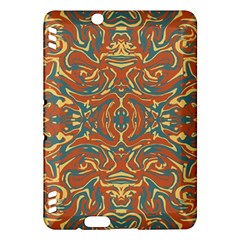 Multicolored Abstract Ornate Pattern Kindle Fire Hdx Hardshell Case