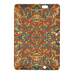 Multicolored Abstract Ornate Pattern Kindle Fire Hdx 8 9  Hardshell Case