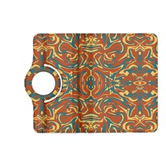 Multicolored Abstract Ornate Pattern Kindle Fire Hd (2013) Flip 360 Case