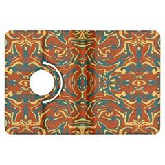Multicolored Abstract Ornate Pattern Kindle Fire Hdx Flip 360 Case