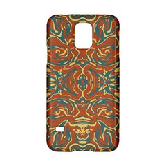 Multicolored Abstract Ornate Pattern Samsung Galaxy S5 Hardshell Case