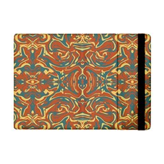 Multicolored Abstract Ornate Pattern Ipad Mini 2 Flip Cases