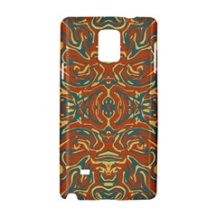 Multicolored Abstract Ornate Pattern Samsung Galaxy Note 4 Hardshell Case