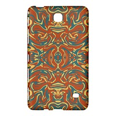 Multicolored Abstract Ornate Pattern Samsung Galaxy Tab 4 (8 ) Hardshell Case