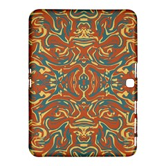 Multicolored Abstract Ornate Pattern Samsung Galaxy Tab 4 (10 1 ) Hardshell Case