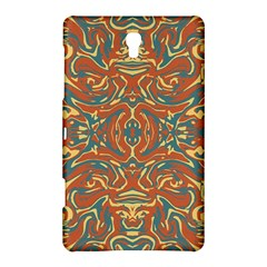 Multicolored Abstract Ornate Pattern Samsung Galaxy Tab S (8 4 ) Hardshell Case
