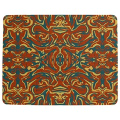 Multicolored Abstract Ornate Pattern Jigsaw Puzzle Photo Stand (rectangular)