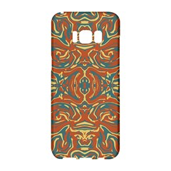 Multicolored Abstract Ornate Pattern Samsung Galaxy S8 Hardshell Case