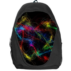 Background Light Glow Abstract Art Backpack Bag