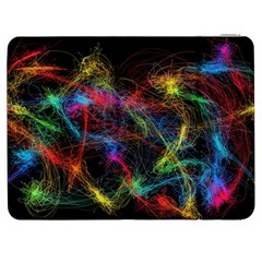 Background Light Glow Abstract Art Samsung Galaxy Tab 7  P1000 Flip Case