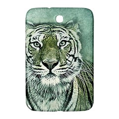 Tiger Cat Art Abstract Vintage Samsung Galaxy Note 8 0 N5100 Hardshell Case
