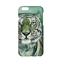 Tiger Cat Art Abstract Vintage Apple Iphone 6/6s Hardshell Case