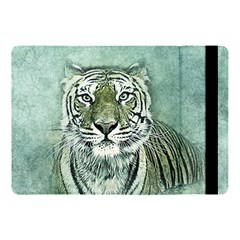 Tiger Cat Art Abstract Vintage Apple Ipad Pro 10 5   Flip Case