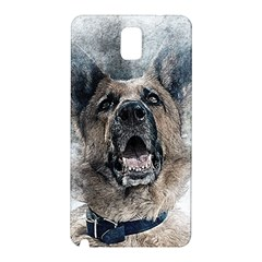 Dog Pet Art Abstract Vintage Samsung Galaxy Note 3 N9005 Hardshell Back Case