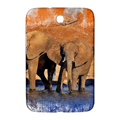 Elephants Animal Art Abstract Samsung Galaxy Note 8 0 N5100 Hardshell Case