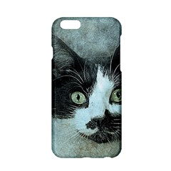 Cat Pet Art Abstract Vintage Apple Iphone 6/6s Hardshell Case