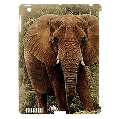 Elephant Animal Art Abstract Apple Ipad 3/4 Hardshell Case (compatible With Smart Cover)
