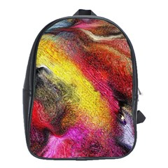 Background Art Abstract Watercolor School Bag (xl)