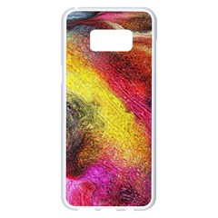 Background Art Abstract Watercolor Samsung Galaxy S8 Plus White Seamless Case