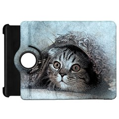 Cat Pet Art Abstract Vintage Kindle Fire Hd 7