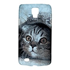 Cat Pet Art Abstract Vintage Galaxy S4 Active