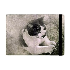 Cat Pet Art Abstract Vintage Ipad Mini 2 Flip Cases