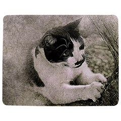 Cat Pet Art Abstract Vintage Jigsaw Puzzle Photo Stand (rectangular)