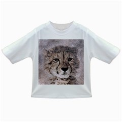 Leopard Art Abstract Vintage Baby Infant/toddler T Shirts