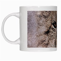 Leopard Art Abstract Vintage Baby White Mugs