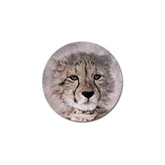 Leopard Art Abstract Vintage Baby Golf Ball Marker (4 Pack)