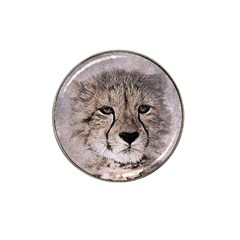 Leopard Art Abstract Vintage Baby Hat Clip Ball Marker