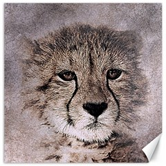 Leopard Art Abstract Vintage Baby Canvas 20  X 20