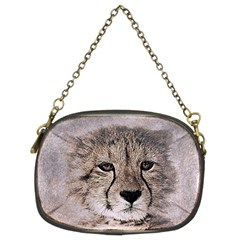 Leopard Art Abstract Vintage Baby Chain Purses (two Sides)